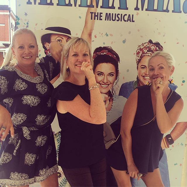 Many years of bedroom ABBA and hairbrush microphones had us Chiconi sisters very ready for a little Saturday musical hijinks #mammamia #abbalove #bedroomsingers #brisbaneanyday
