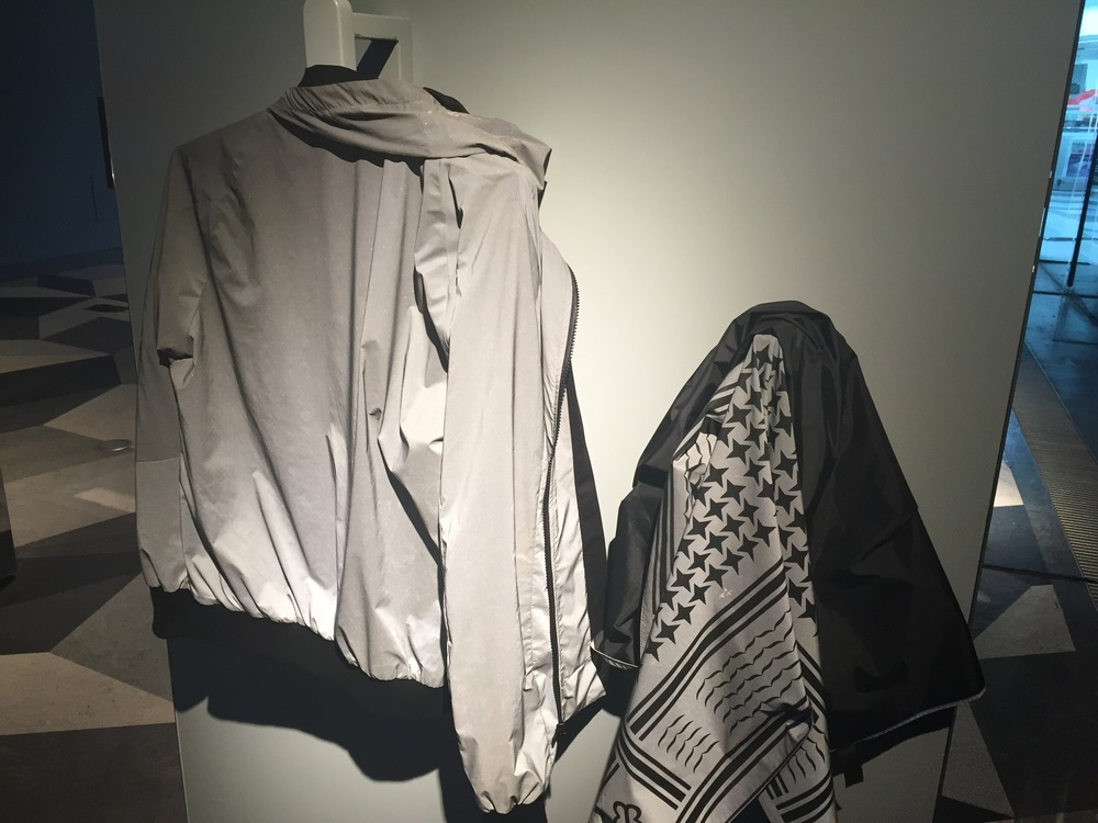 Regular jacket and scarf you think?