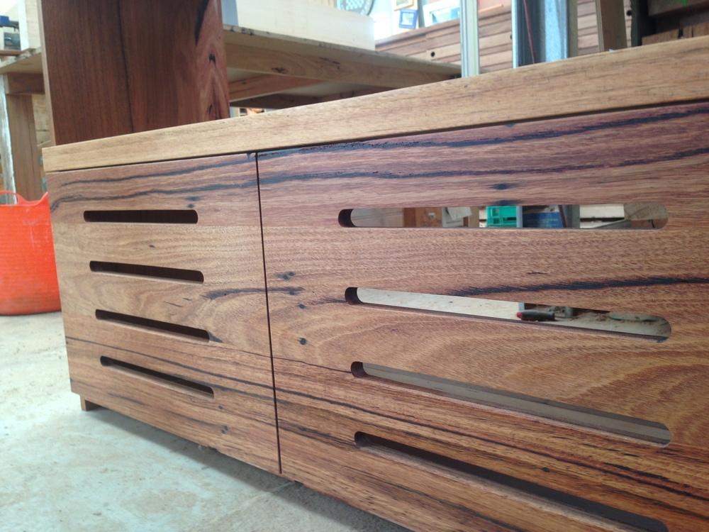 hardwood cabinetry