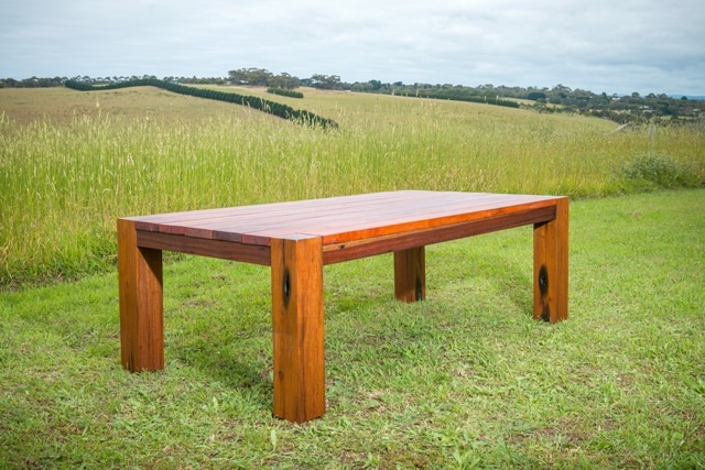 Blackgate custom outdoor dining table