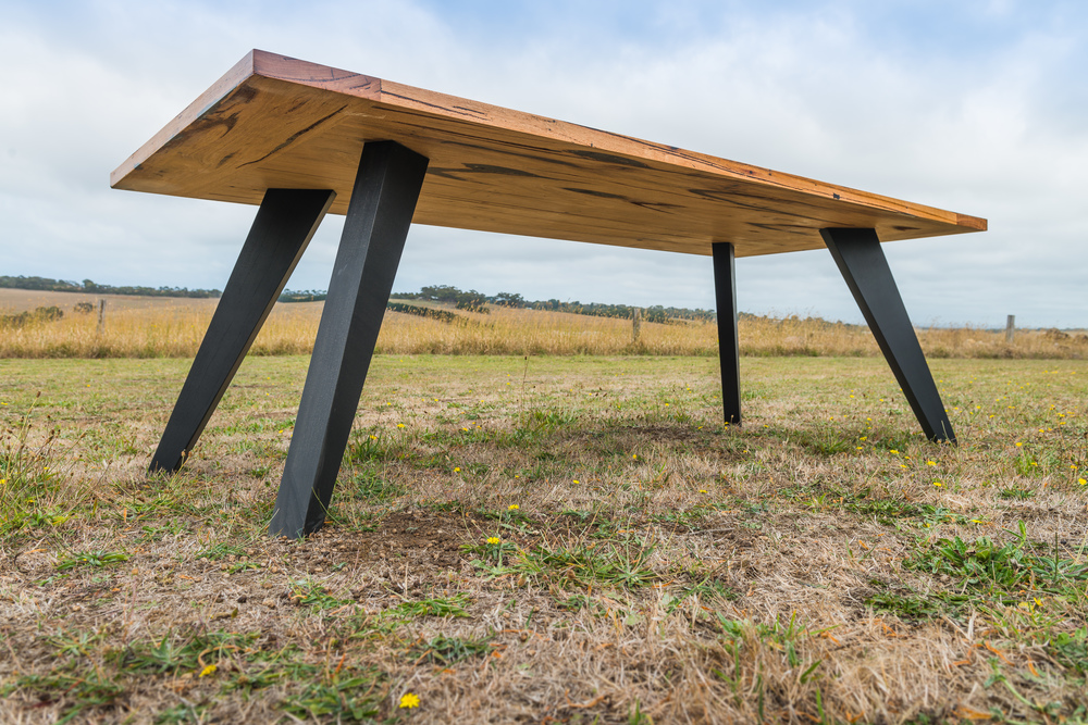 Contemporary Timber Dining Table
