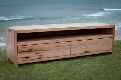 Custom Recycled Timber Tv Unit
