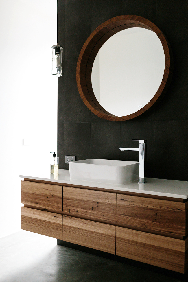 Custom Timber Vanity Bringing Warmth To Your Bathroom