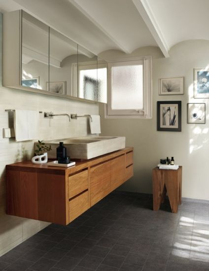Bringing warmth to your bathroom with a timber vanity bombora