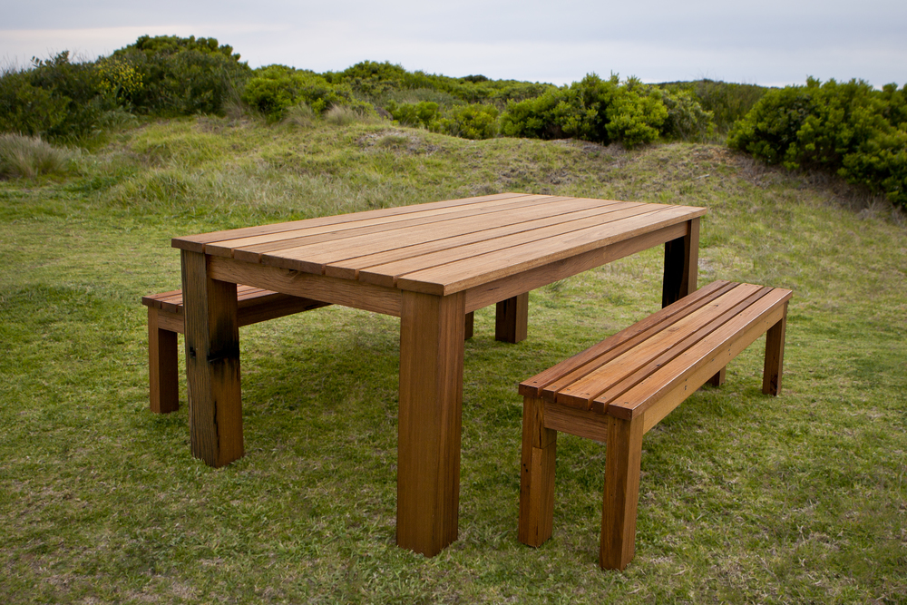 custom outdoor dining table Melbourne
