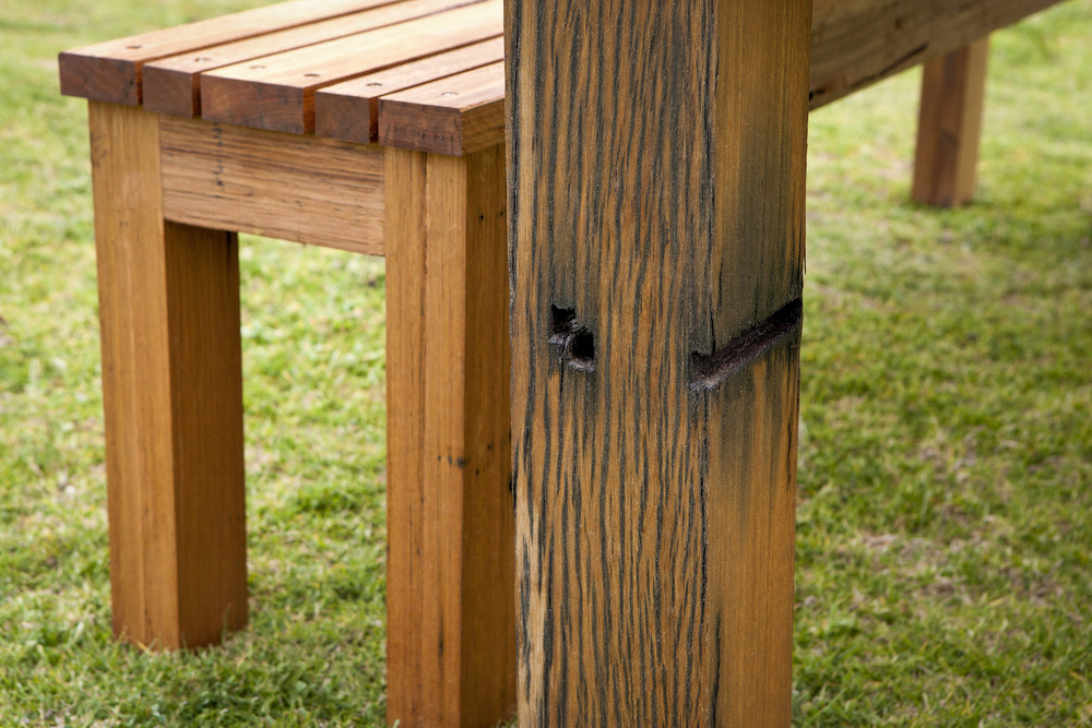 recycled blackbutt outdoor furniture