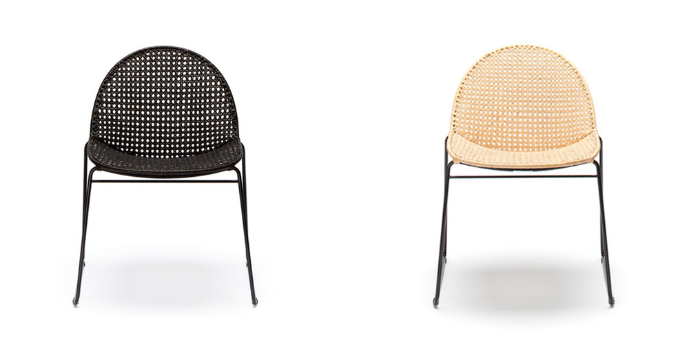 Modern Rattan dining chair