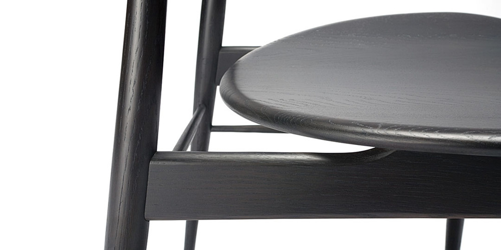 Dark Wenge dining chair