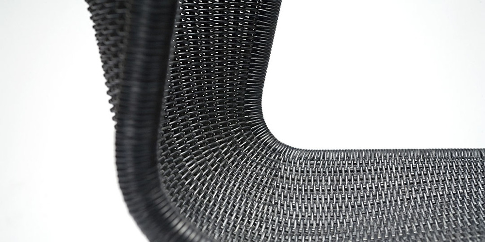Charcoal Rattan dining chair