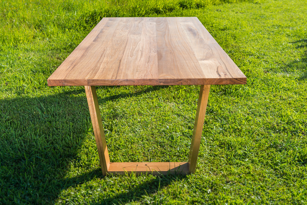 Box Jointed Dining Table Legs Angled Leg