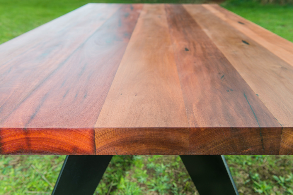 recycled timber industrial dining tables Melbourne