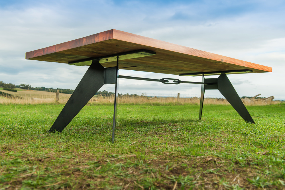 Black metal dining table for Dining table with metal legs