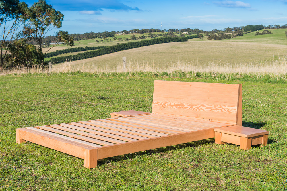 Bespoke timber bed