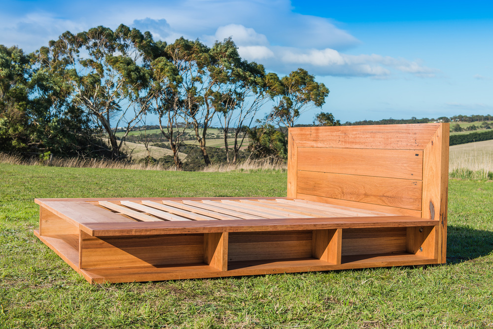 Australian made timber bed