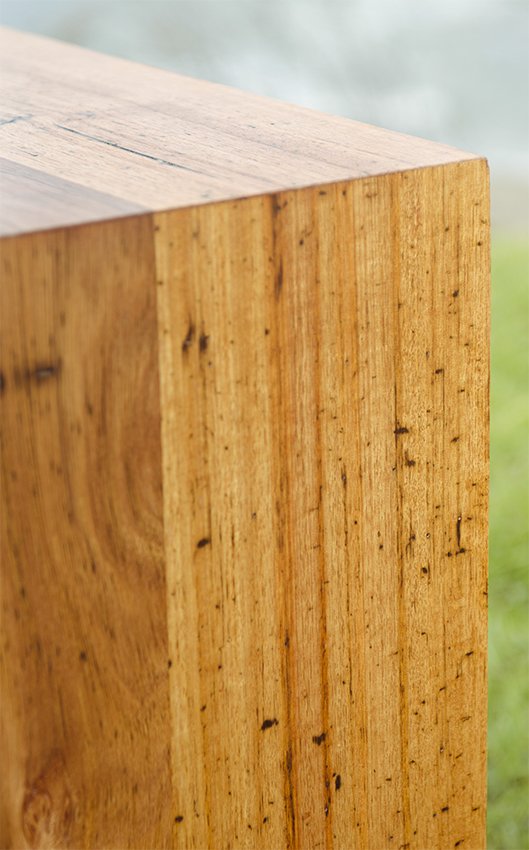 recycled Messmate timber