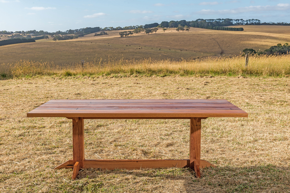 modern refectory dining table