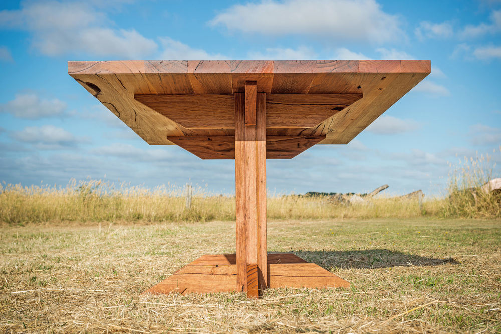 solid timber dining table Melbourne