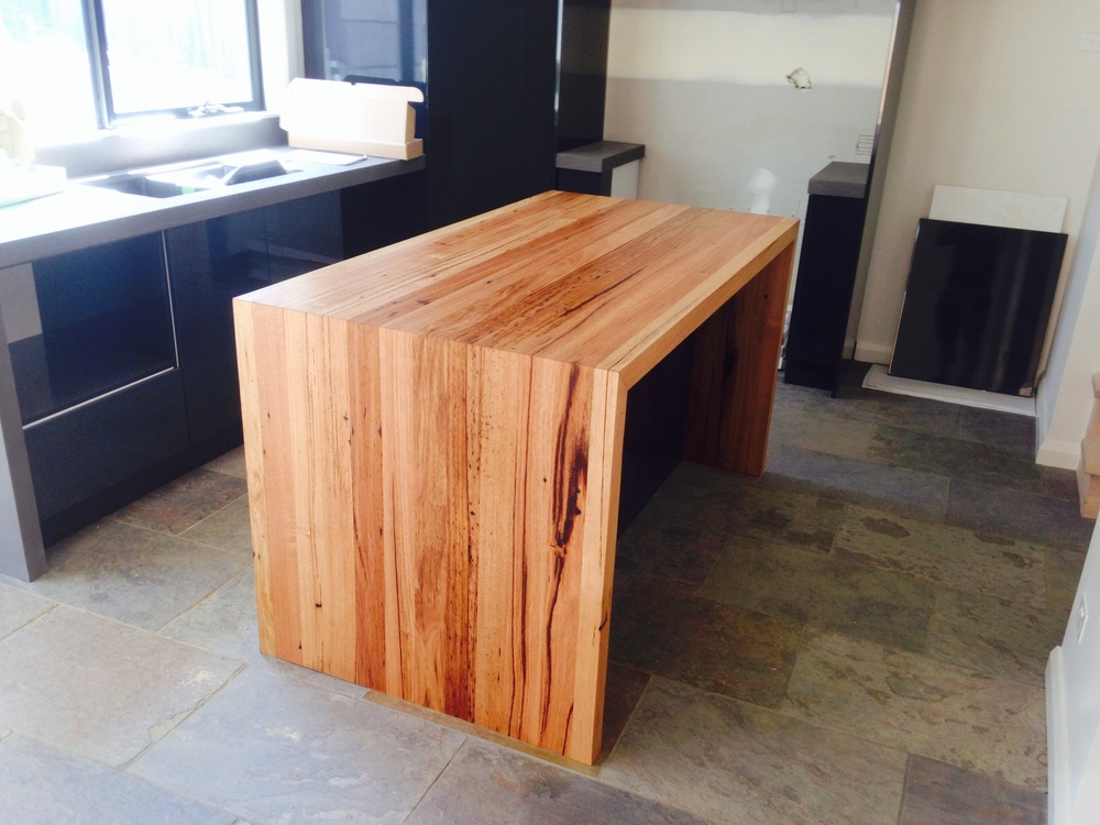 Furniture design blog recycled timber furniture blog for Kitchen island bench
