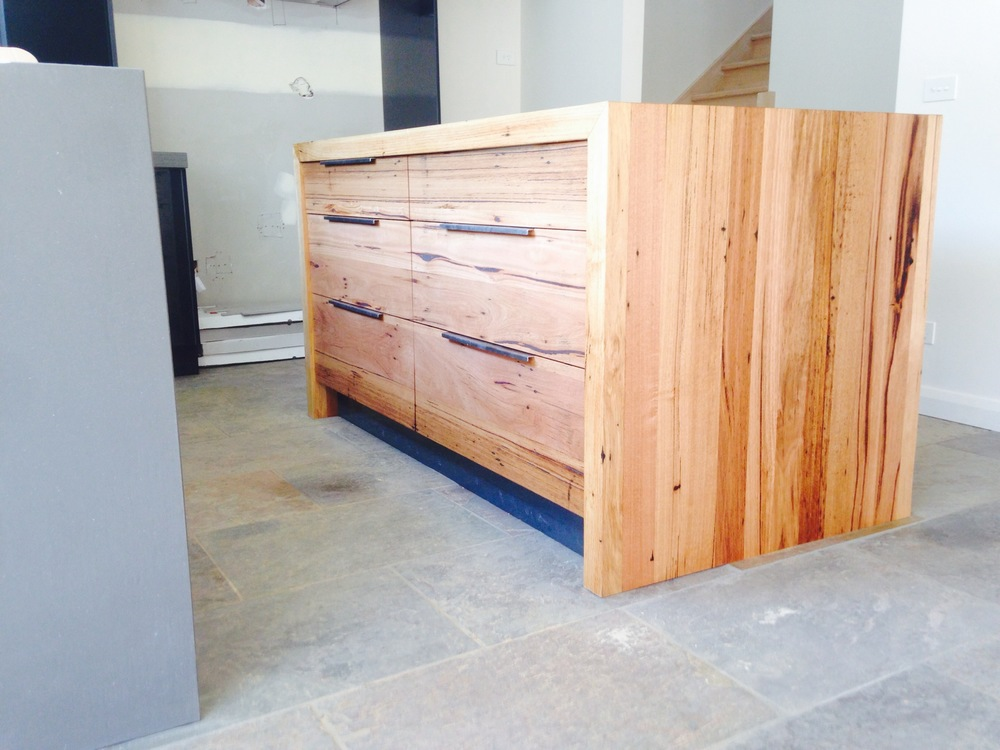 custom timber drawer fronts