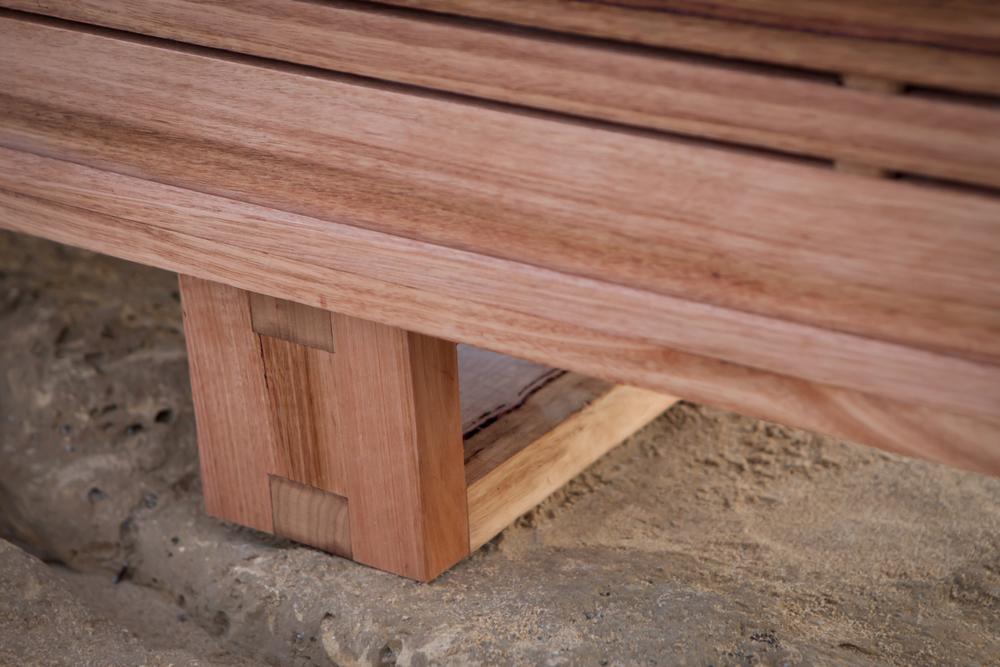 modern timber tv stand
