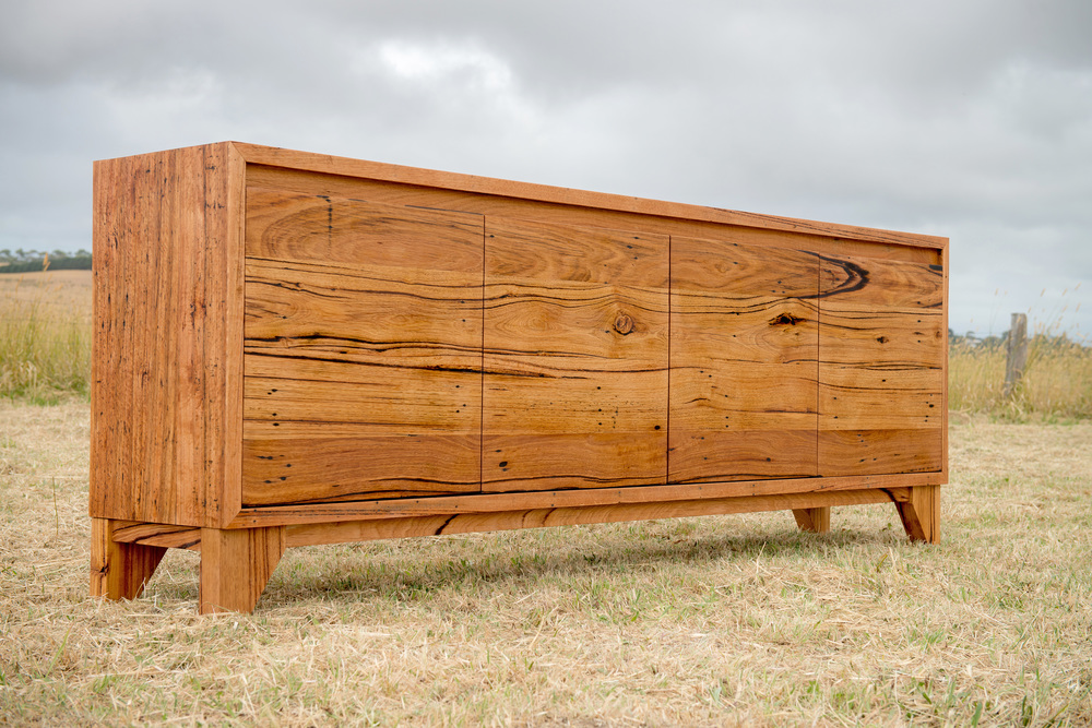 custom timber buffet Geelong