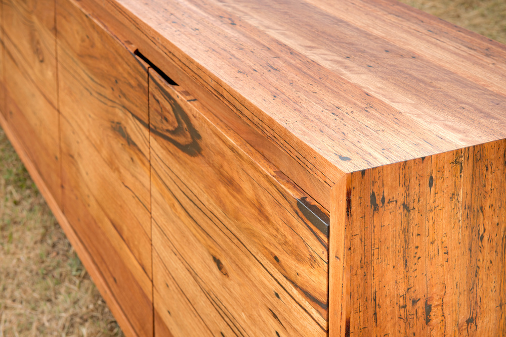 made to order timber buffet