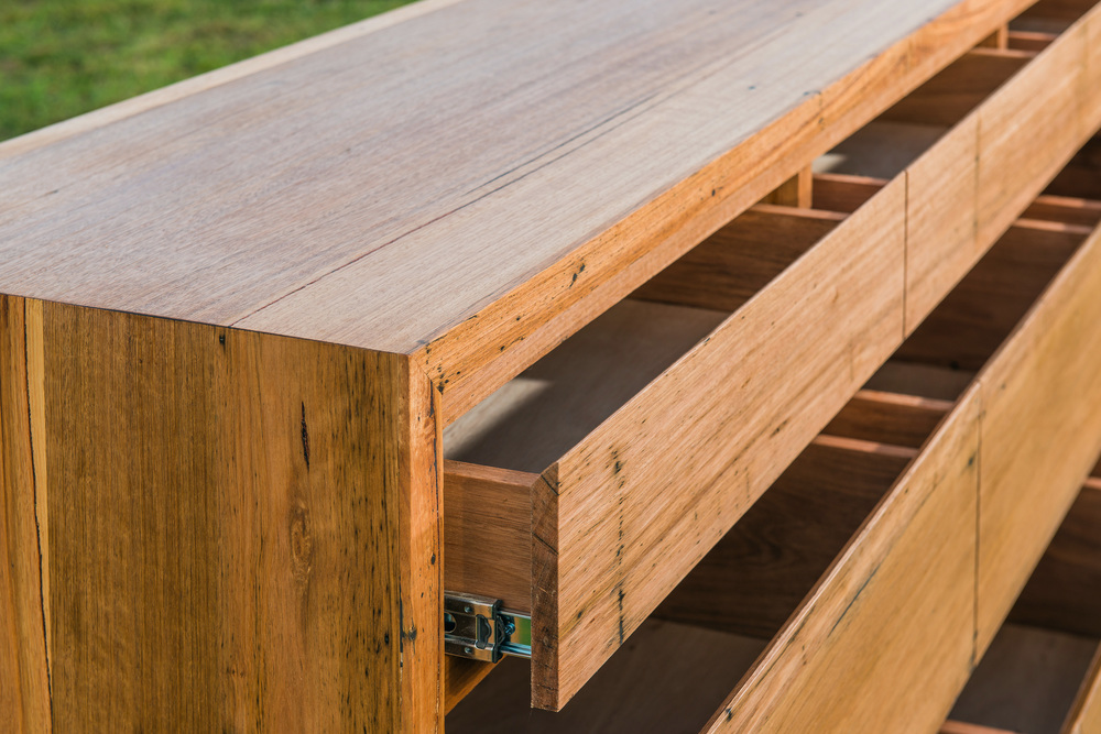 Solid timber drawers