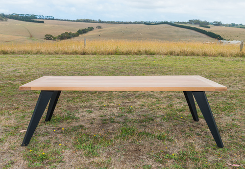 Modern Recycled Timber Custom Made Dining Tables