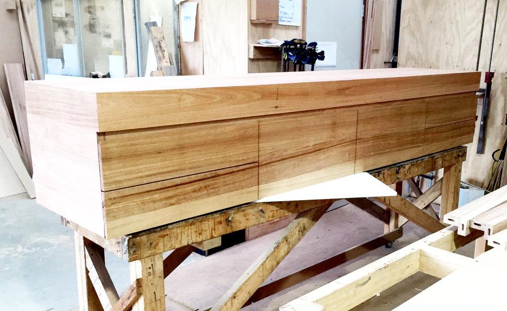 hardwood vanity Victoria