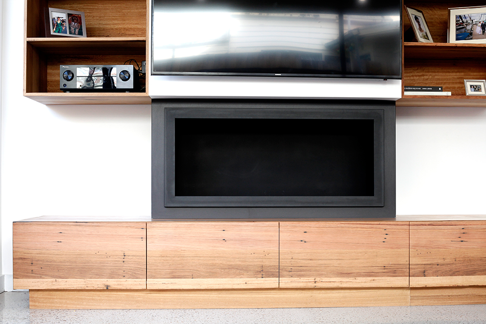 in built tv unit