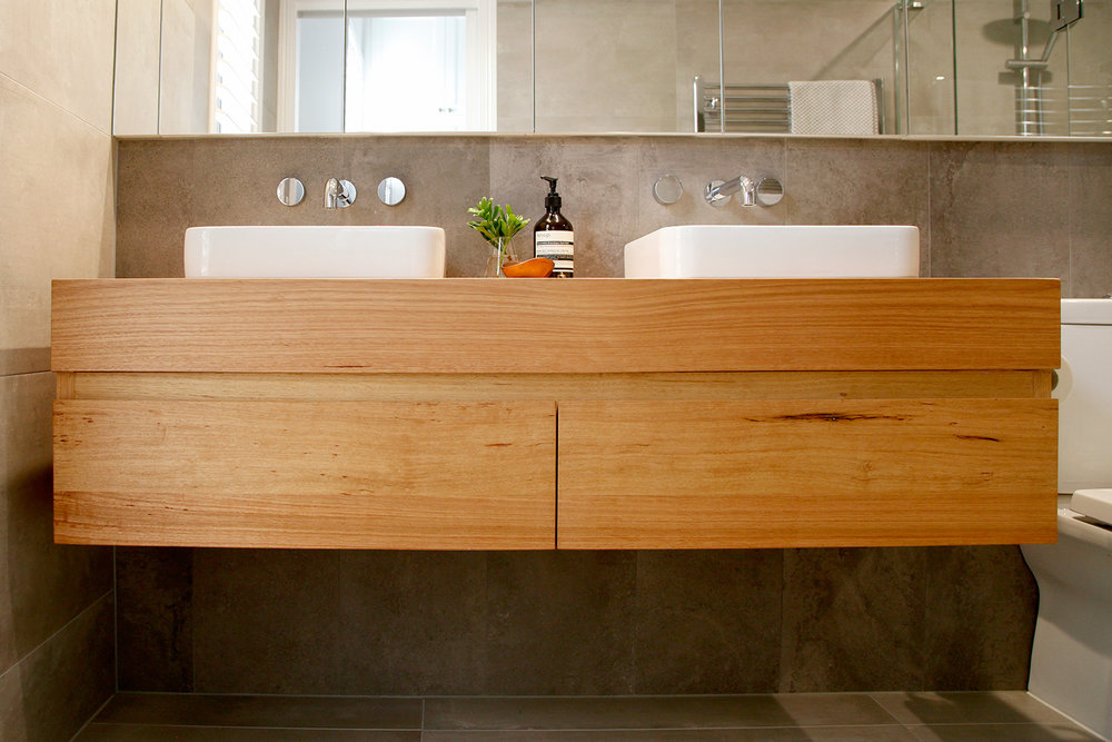 solid timber vanity sydney