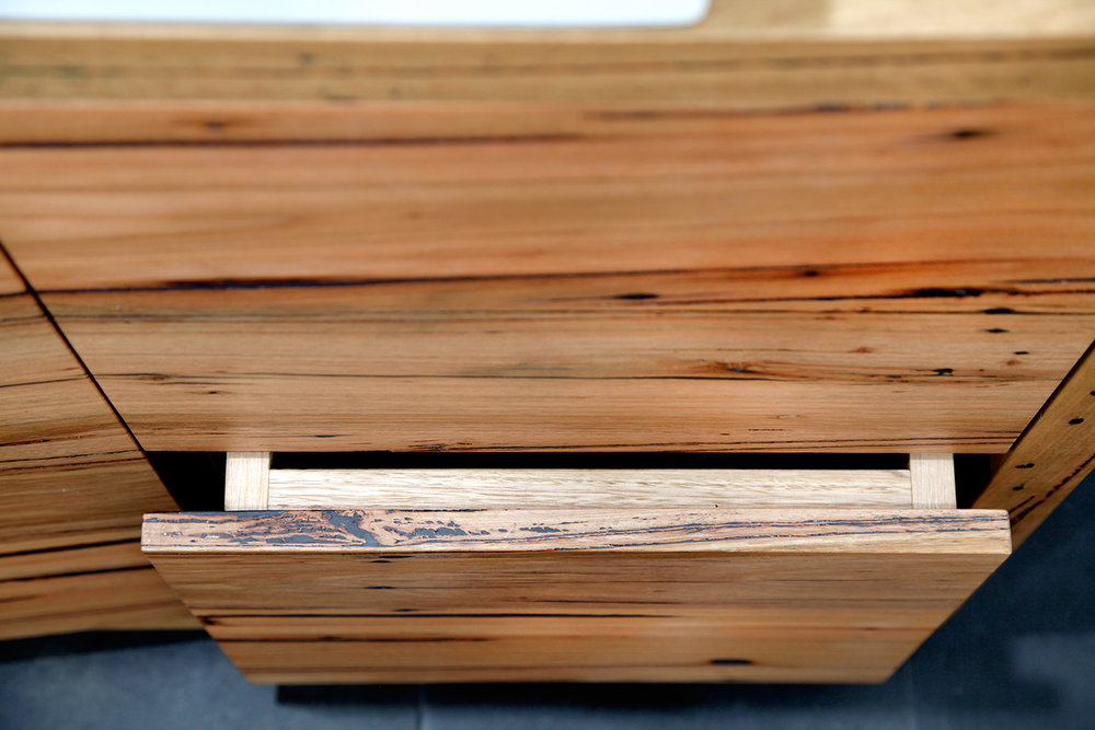 Solid timber drawer boxes
