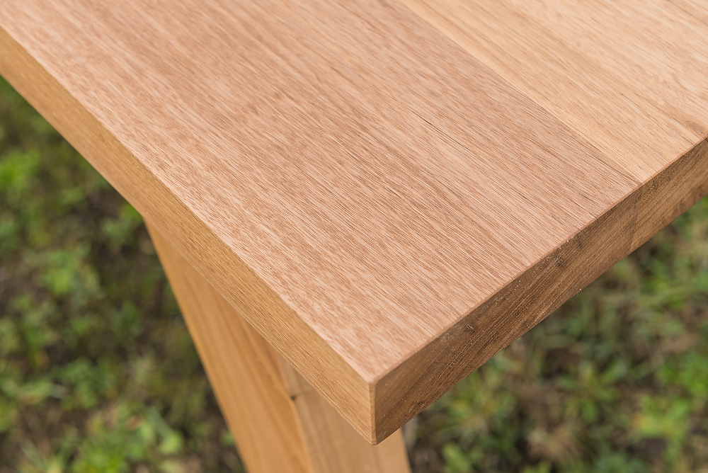 Australian Chestnut timber bech top