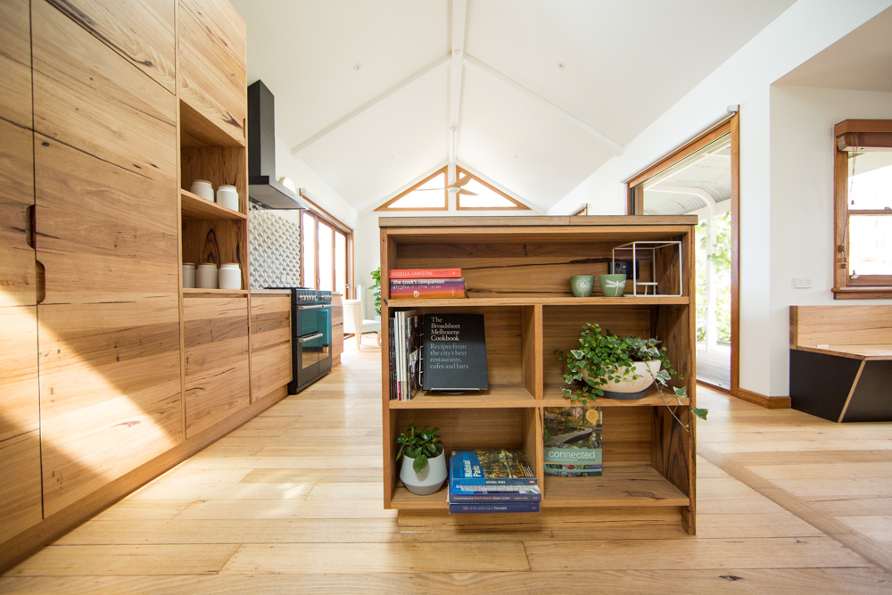 solid timber kitchen cabinetry