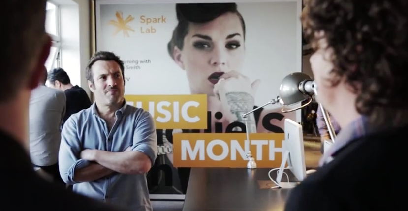 SPARK Lab Music Month for Shine Music by Jan Hellriegel