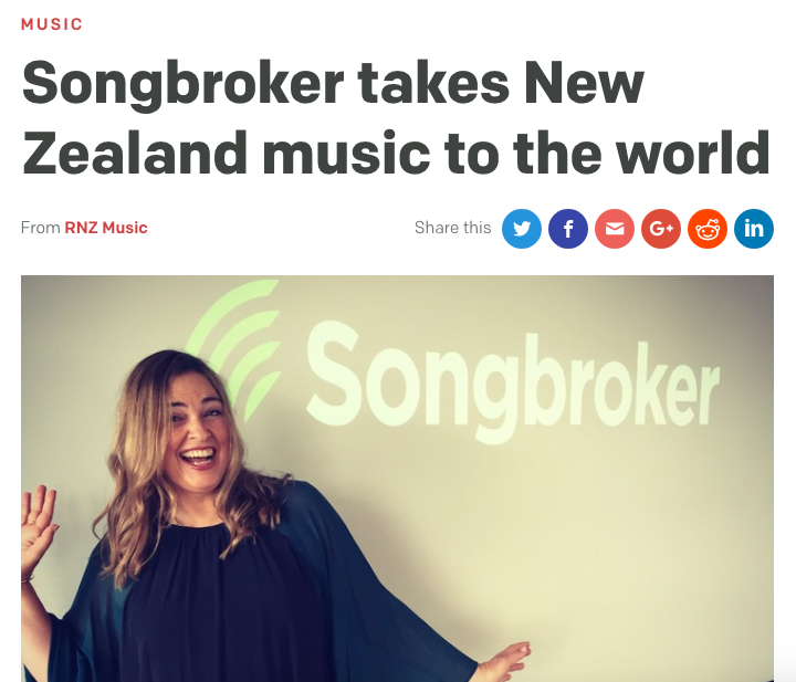 RNZ MUSIC 101 - RADIO INTERVIEW AND WEB ARTICLE