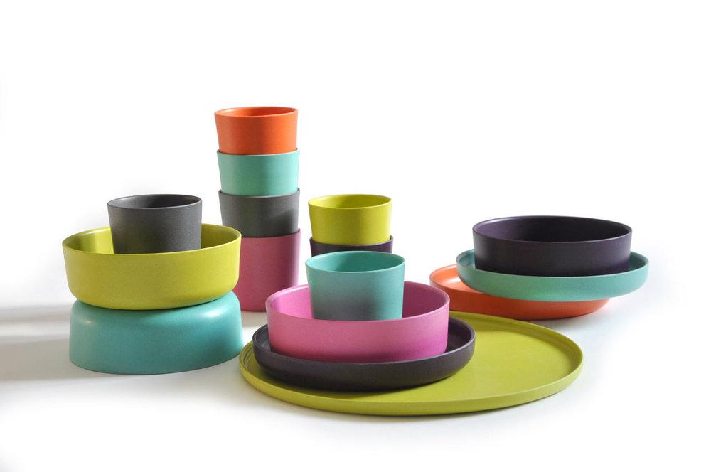 - Biobu by Ekobo, Eco-chic kid's Dishware (bamboo)Where to get it:Norkind Heimwarenyolomindwerk