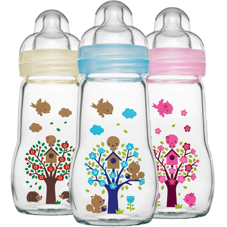 - MAM baby glas bottleorder directly on MAM