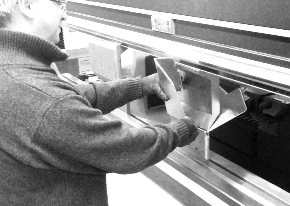 Triskelion - Danese - bendind sheet process