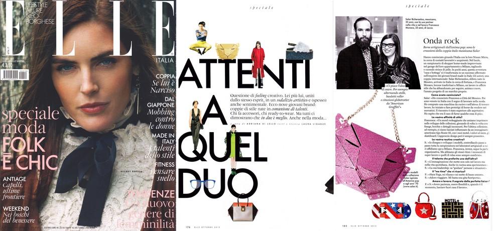 Elle Italia - october 2015 - Italy - Xaguara