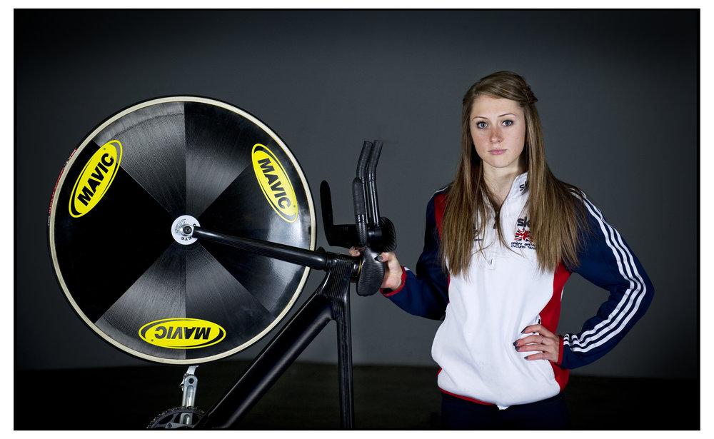 OLYMPIC CYCLIST LAURA TROTT
