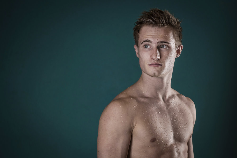 JACK LAUGHER GB OLYMPIC DIVER