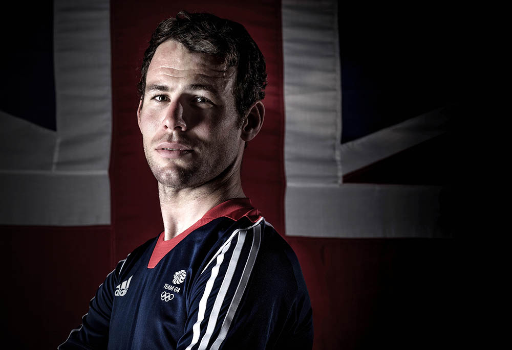 Mark Cavendish of Team GB  the Team GB track cyclists selected to ride in the Rio 2016 Olympic Games on June 24, 2016 in Manchester, England. PHOTO CREDIT PAUL COOPER