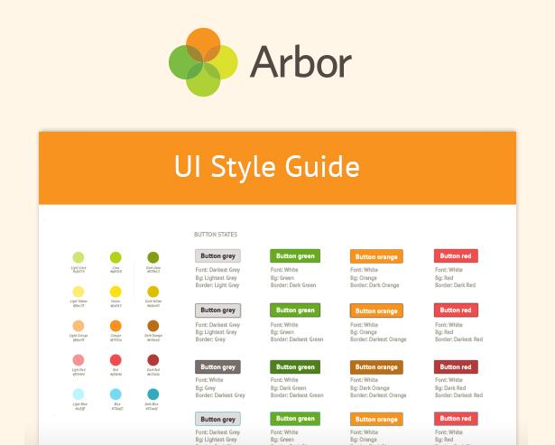 ARBOR - UI Style Guide