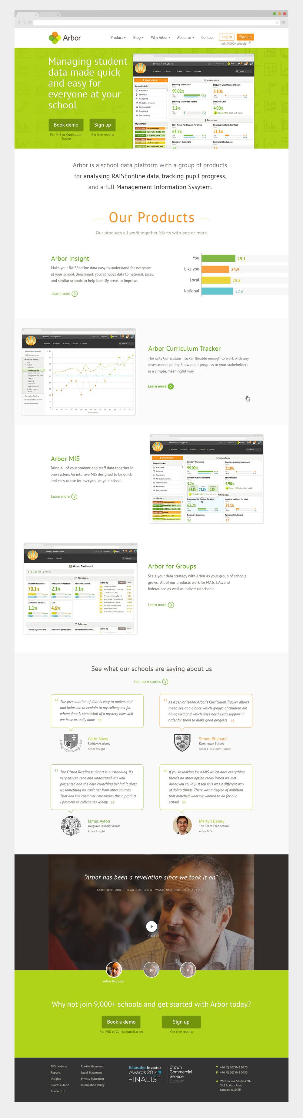 Homepage - http://arbor-education.com/