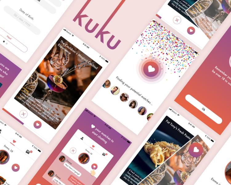 REVL - Consumer App /UI / Visual Design / Prototype
