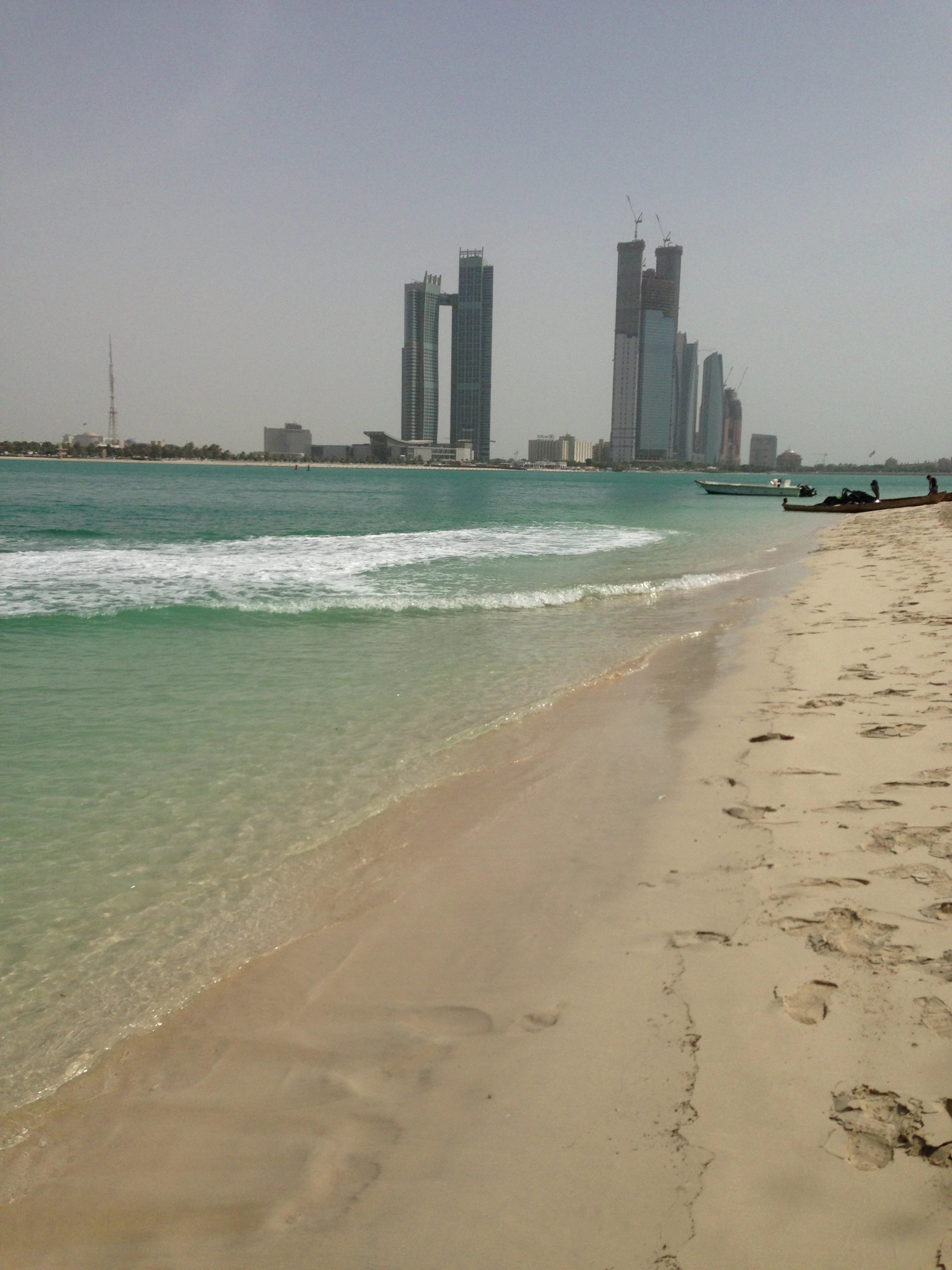A scene I captured in Abu Dhabi on my iPhone last year
