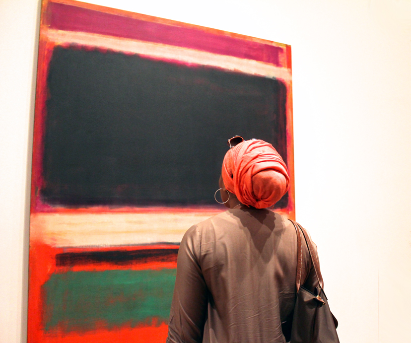Rothko and Me, MOMA, NYC