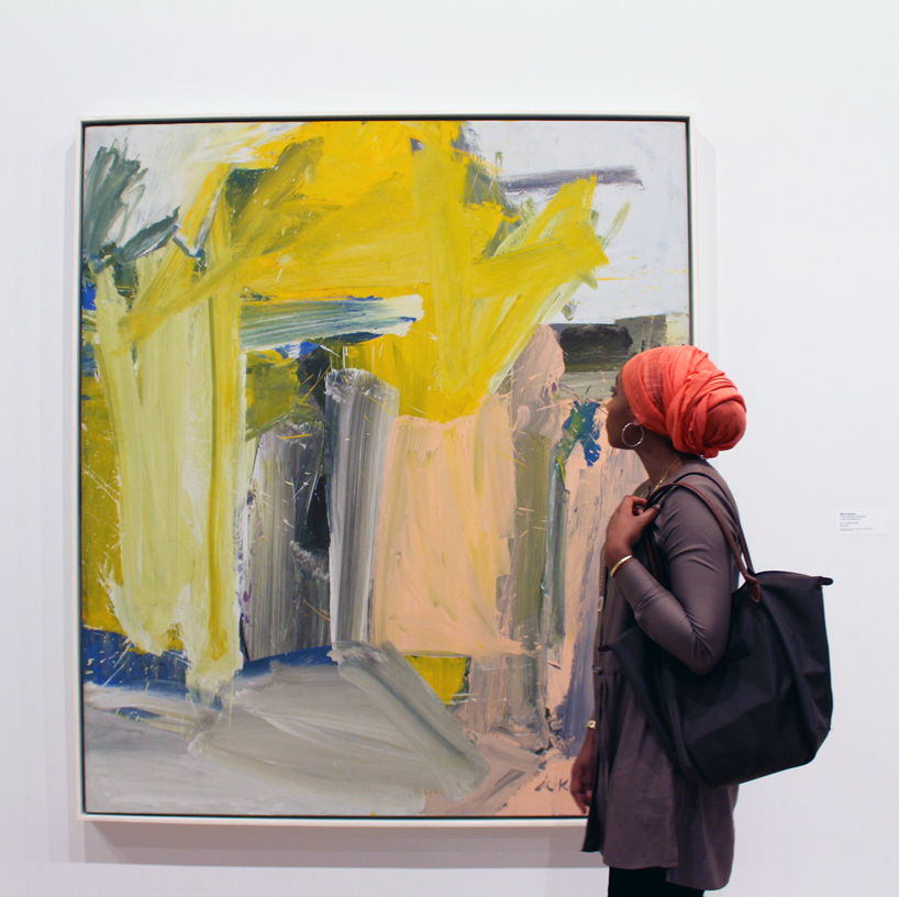 Watching my Pinterest account come to life. De Kooning, The Whitney, NYC.