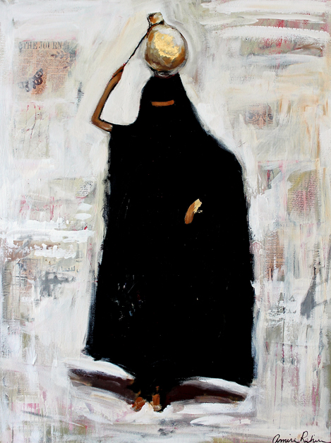 """Bedouin in Gold"""